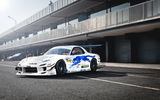 Обои: Mazda, drift car, RX-7, JDM, white, tuning