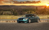 Обои: green, e60, bmw, stance, 528i, tuning
