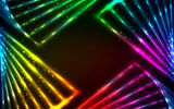 Обои: colors, abstract, vector, lights, rainbow