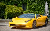 Обои для рабочего стола: Yellow, Paul Rodrigues, Castle, 458, Cabriolet, Ferrari, Spider, Supercar