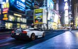 Обои для рабочего стола: New York, SuperVeloce, LP670-4, NYC, Times Square, Supercar, Murcielago, Speed, Lamborghini
