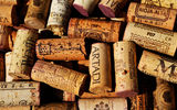 Обои: cork, cork from bottles, colored pattern