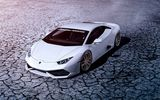 Обои для рабочего стола: ADV.1, Supercar, Huracan, White, Houston, Front, LP640-4, Lamborghini