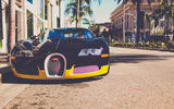 Обои: bugatti, california, los angeles, veyron, город