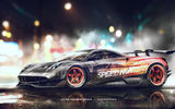Обои для рабочего стола: Huayra, Speedhunters, Yasid Design, Pagani, Need for Speed