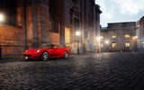 Обои: ferrari california, город, улица, феррари калифорния