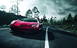 Обои: Aventador, LP-750, SuperVeloce, Lamborghini, Red