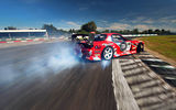 Обои для рабочего стола: Mazda, Sky, Drift, competition, RX-7, Tuning, Red, Smoke, Sportcar