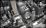 Обои: new york, высота, здания, houses, 2560x1600, buildings, машины, Город, cars, улицы, дома, streets, hight, city