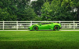 Картинки_для_телефона: ADV.1, Side, LP610-4, Green, Supercar, Wheels, Huracan, Lamborghini, Color