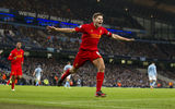 Обои: Стивен Джеррард, Ливерпуль, Barclays, Premier League, Liverpool, Футбол, Англия, Премьер Лига, Steven Gerrard
