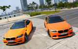 Обои: BMW, M5, Matte, City, F10, Tuning, Orange