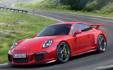 Обои: supercar, red, Porsche, 911 GT3