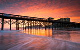 Обои: United States, Folly Beach in Charleston, South Carolina