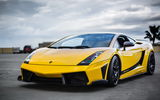 Обои: Lamborghini, Superleggera, Gallardo, передок, Supercar, Yellow