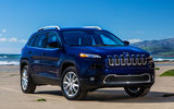 Обои: car, suv, sky, Cherokee, blue, Jeep, Limited