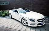 Обои: Mercedes-Benz, AMG, car, Roadster, white, SL 63, GT