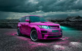 Обои: Range Rover Vogue, Тюнинг, Hamann, Ксенон, Автомобиль