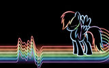 Обои: my little pony, rainbow dash, rainbow, line, neon, линии, dash, радуга, дэш, mlp, неон, lines, рэйнбоу