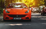 Обои: Ferrari, Bokeh, serbia, Car, Red, FF, belgrade