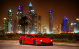Обои для рабочего стола: Lamborghini, Gallardo, Dubai, red, LP570-4, Super Trodeo Stradale, car