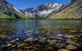 Обои: Convict Lake, USA, озеро, горы, California