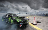 Обои: Monster Energy, Ford, Nitto Tire Mustang RTR, Formula Drift