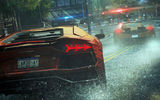 Обои: Need For Speed Most Wanted, тачки, гонка, дождь, Ламборджини, полиция