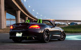 Обои: BMW, z4, light, tuning, sky, black, bright