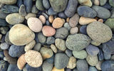 Обои для рабочего стола: stones, colorful, yellow, green, blue, grey, round