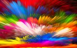 Обои: abstract, painting, краски, rainbow, colors, splash, bright, colorful