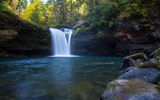 Обои: водопад река, Oregon, the South Fork Coquille River, Coos County, лес