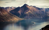 Обои: корабль, Lake Wakatipu, Queenstown, природа, река, new zealand, горы