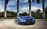 Обои: BMW, F30, tuning, blue, синий, бмв, 3 серия