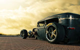 Обои: Rusty, ford, old, stance, car