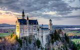 Обои: home of King Ludwig, Bavaria, Neuschwanstein Castle, Germany, Бавария, Германия, Замок Нойшванштайн