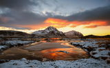 Обои: LOFOTEN ISLANDS, Snow, STEIN LILAND, SEA