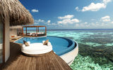 Обои: Maldives, island, pool, мальдивы, coral, кораллы, fesdu, ocean, бассейн, остров, океан