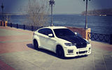 Обои: E72, HAMANN, white, tuning, X6, BMW
