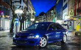 Обои: Mitsubishi, JDM, Beautiful, синий, Эволюшен, Style, Митсубиши, Lancer, Evolution, Лансер