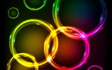Обои: abstract, vector, colors, rainbow, lights