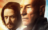 Обои: X-Men: Days of Future Past, Charles Xavier, Люди Икс: Дни минувшего будущего, Patrick Stewart, James McAvoy
