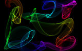 Обои: neon, fractal, abstract, colors