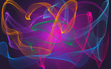 Обои: abstract, fractal, neon, colors