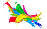 Обои: paint, краска, design, капли, брызги, colors, splash