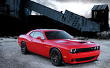 Обои для рабочего стола: Dodge, Challenger, engine, SRT, with, Supercharged, Hellcat, HEMI
