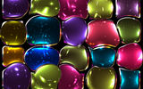 Обои: colors, стекло, tiles, витраж, мозаика, colorful, abstract, stained glass, mosaic