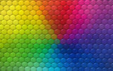 Обои: colors, rainbow, texture, hexagons, reptile skin, colorful