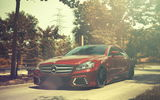 Обои: CLS-Klasse, Mercedes-Benz, front, red, мерседес бенц, CLS 63