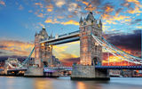 Обои: London, Tower Bridge, Thames River, England, Англия, Тауэрский мост, Лондон